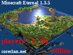 Статус Minecraft Eternal 1.3.5